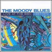 THE MOODY BLUES - Live At The BBC: 1967 - 1970 CD album cover