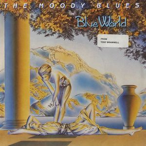 THE MOODY BLUES - Blue World CD album cover