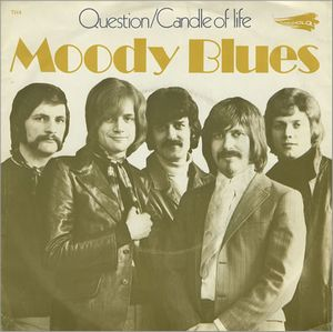 The Moody Blues - Question CD (album) cover