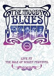 THE MOODY BLUES - Threshold Of A Dream - Live At The Isle Of Wight 1970 CD (album) cover