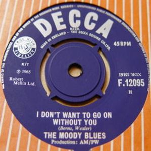 THE MOODY BLUES - I Don't Want To Go On Without You CD album cover