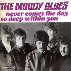 THE MOODY BLUES - Never Comes The Day CD album cover