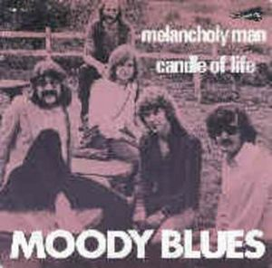 The Moody Blues - Melancholy Man CD (album) cover