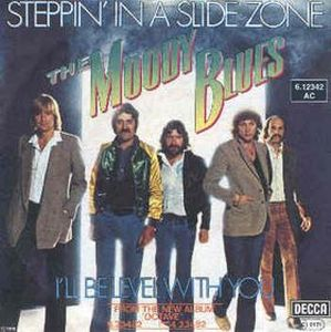 THE MOODY BLUES - Steppin' In A Slide Zone CD album cover