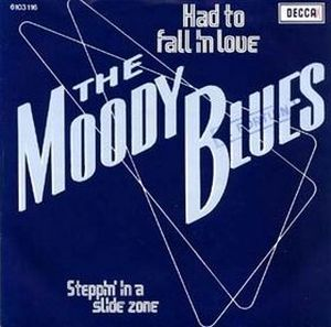 THE MOODY BLUES - Had To Fall In Love CD album cover