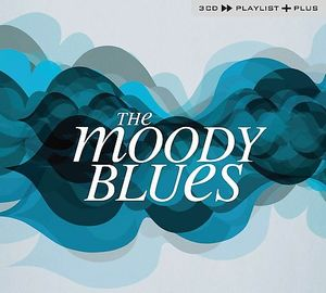 THE MOODY BLUES - Playlist Plus CD album cover