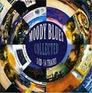 THE MOODY BLUES - Moody Blues Collected CD album cover