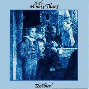 The Moody Blues - The Voice CD (album) cover