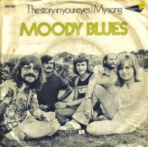 The Moody Blues - The Story In Your Eyes CD (album) cover