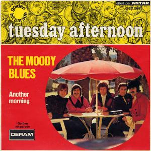 THE MOODY BLUES - Tuesday Afternoon CD album cover