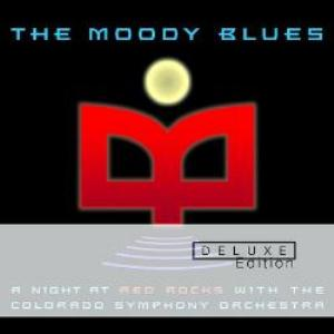 THE MOODY BLUES - A Night At Red Rocks - Deluxe Edition CD album cover