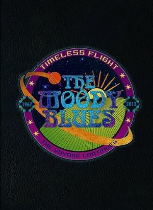 THE MOODY BLUES - Timeless Flight CD album cover