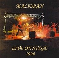 Malibran - Live On Stage 1994 CD (album) cover