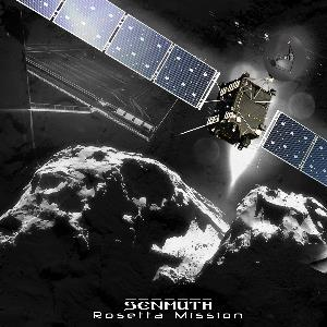 Senmuth - Rosetta Mission CD (album) cover