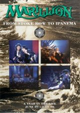 Marillion - From Stroke Row To Ipanema DVD (album) cover