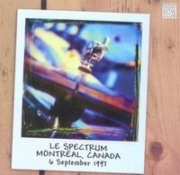 Marillion - Le Spectrum, Montr�al, Canada, 6 September 1997 (front Row Club 008) CD (album) cover