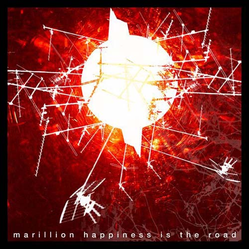 MARILLION - Hapiness Is The Road CD album cover