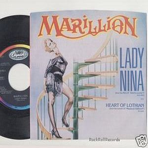 Marillion - Lady Nina CD (album) cover