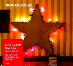 MARILLION - Marillion.best.live CD album cover