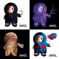 Marillion - Awol : A Marillion Solo Projects Sampler CD (album) cover
