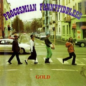 Procosmian Fannyfiddlers - Gold CD (album) cover