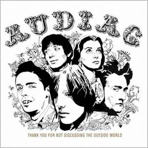 Audiac - Thank You For Not Discussing The Outside World CD (album) cover