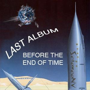 Science Nv - Last Album Before The End Of Time CD (album) cover