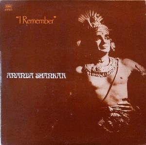 Ananda Shankar - I Remember CD (album) cover