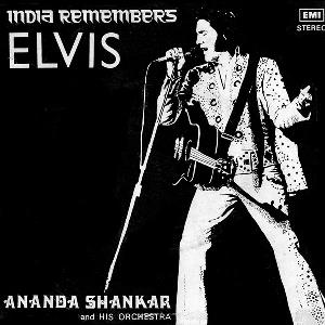 Ananda Shankar - India Remembers Elvis CD (album) cover
