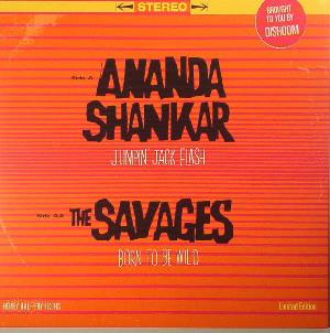 Ananda Shankar - Ananda Shankar And The Savages: Jumpin' Jack Flash / Born To Be Wild CD (album) cover