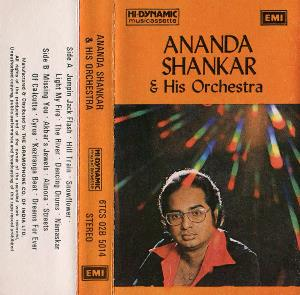 Ananda Shankar - Ananda Shankar & His Orchestra CD (album) cover