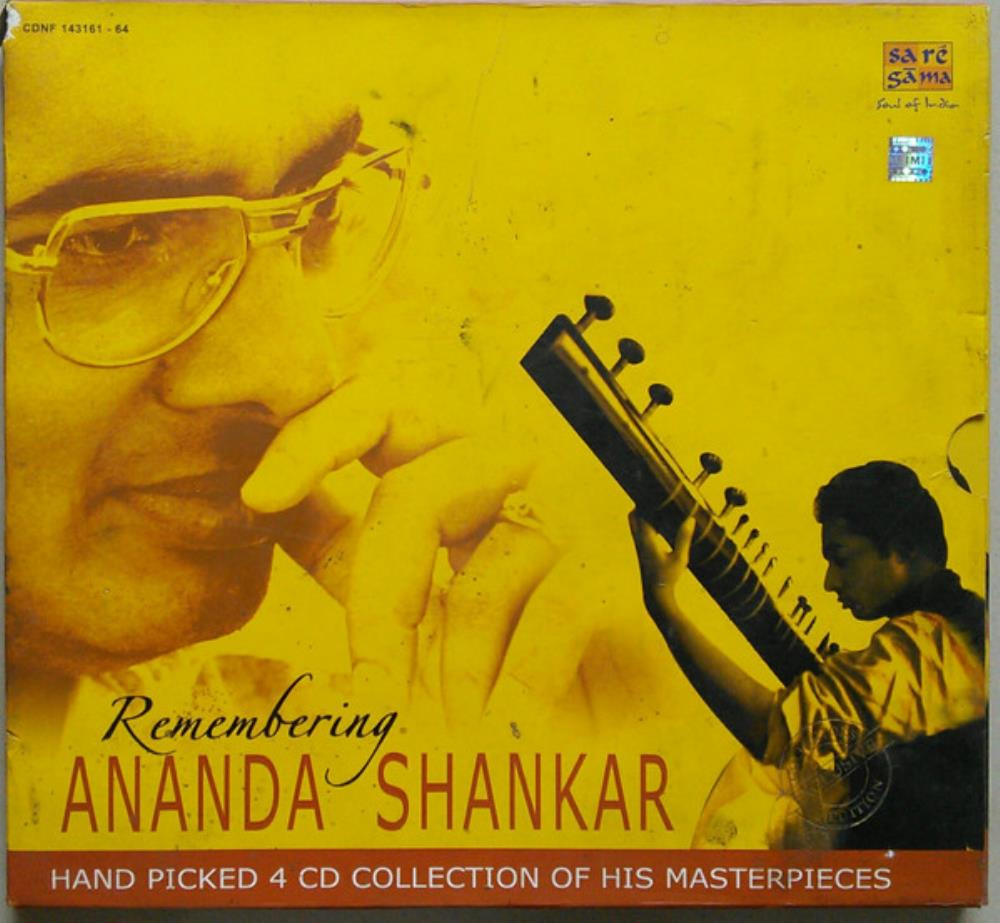Ananda Shankar - Remembering Ananda Shankar CD (album) cover