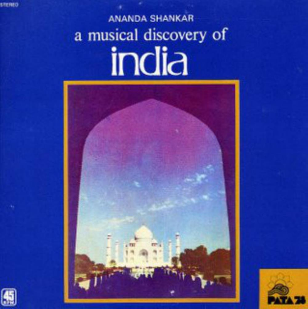 Ananda Shankar - A Musical Discovery Of India / Sa-re-ga Machan CD (album) cover