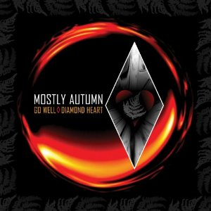 MOSTLY AUTUMN - Go Well Diamond Heart CD album cover