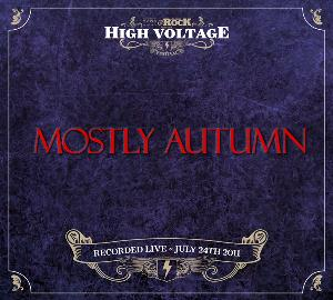 Mostly Autumn - Live At High Voltage 2011 CD (album) cover