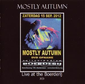 Mostly Autumn - Live At The Boerderij CD (album) cover