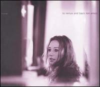 Tori Amos - To Venus And Back CD (album) cover