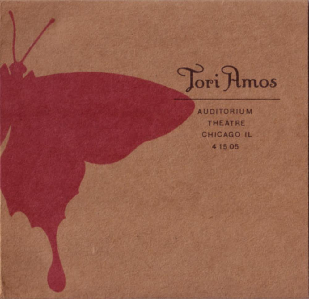 Tori Amos - Auditorium Theatre Chicago, Il 4/15/05 CD (album) cover