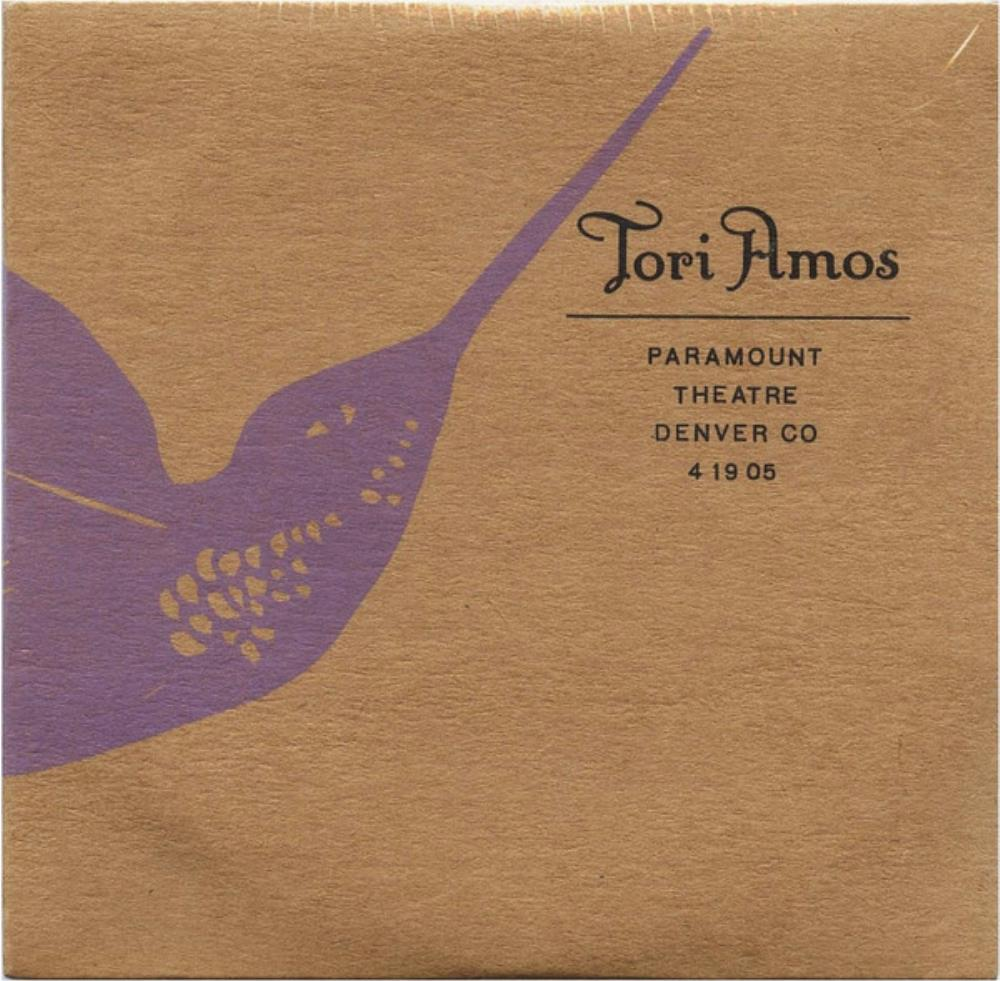 Tori Amos - Paramount Theatre, Denver, Co 4/19/05 CD (album) cover