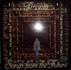 Ananta - Songs From The Future CD (album) cover