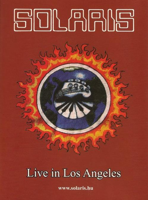 Solaris - Live In Los Angeles 1995 (official Bootleg) DVD (album) cover