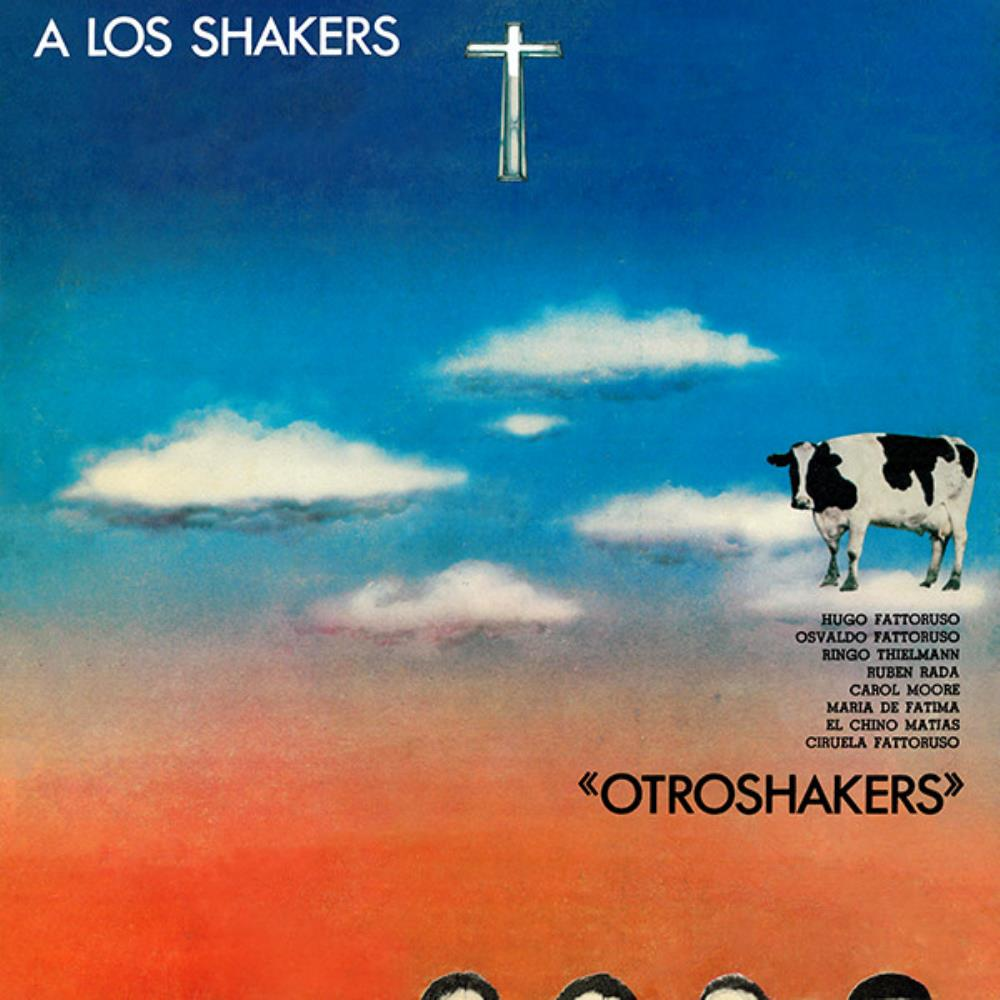 Opa - A Los Shakers (as Otroshakers) CD (album) cover