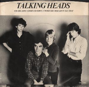 Talking Heads - Uh-oh, Love Comes To Town CD (album) cover
