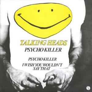 Talking Heads - Psycho Killer CD (album) cover