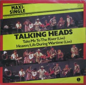 Talking Heads - Take Me To The River (live) CD (album) cover
