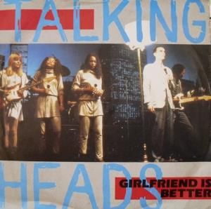 Talking Heads - Girlfriend Is Better CD (album) cover