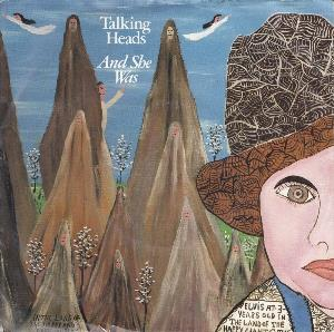 Talking Heads - And She Was CD (album) cover