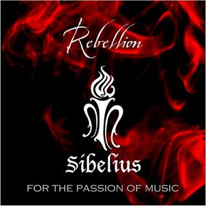Sibelius - Rebellion CD (album) cover
