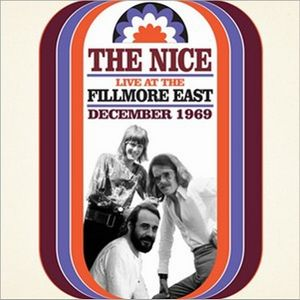 The Nice - The Nice Live At Fillmore East CD (album) cover