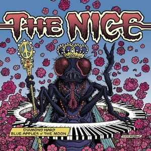 The Nice - Diamond Hard Blue Apples Of The Moon CD (album) cover